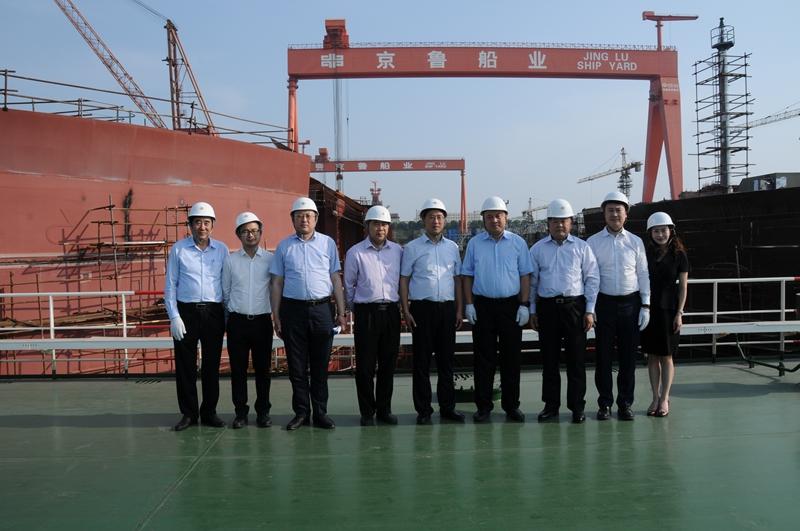 热烈祝贺保利科技有限公司与蓬莱中柏京鲁船业有限公司签署战略合作协议圆满成功